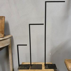 Standaard voor krans/kandelaar - 45 cm hoog