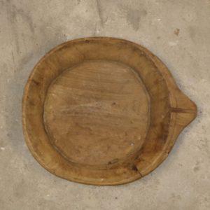 Houten chapati schaal nr. 3