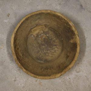 Oude houten schaal - nr. 11