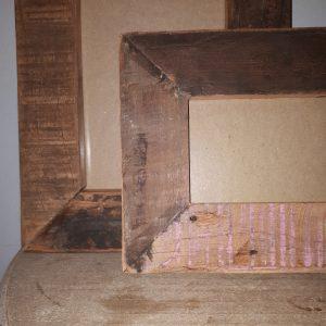 Stoere houten fotolijst - 10/15