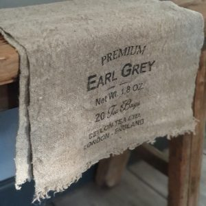 Shabby doekje - 'Earl Grey'