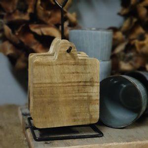 Oud houten krukje - rond