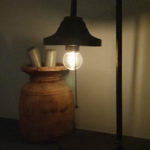 Tafellamp 'Antique zwart'