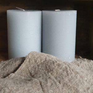 Blokkaars Rustik Lys - 10 x 7 cm - chalk blue